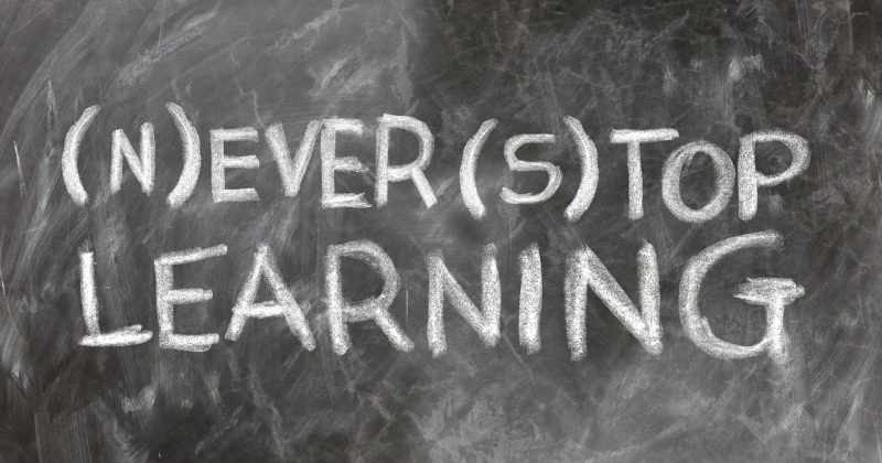 Great leaders never stop learning!